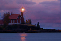 Eagle Harbor Lighthouse,photography based fine art,