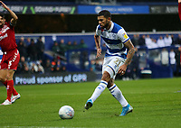 Nahki Wells of Queens Park Rangers  scores during Queens Park Rangers vs Middlesbrough, Sky Bet EFL Championship Football at Loftus Road Stadium on 9th November 2019
