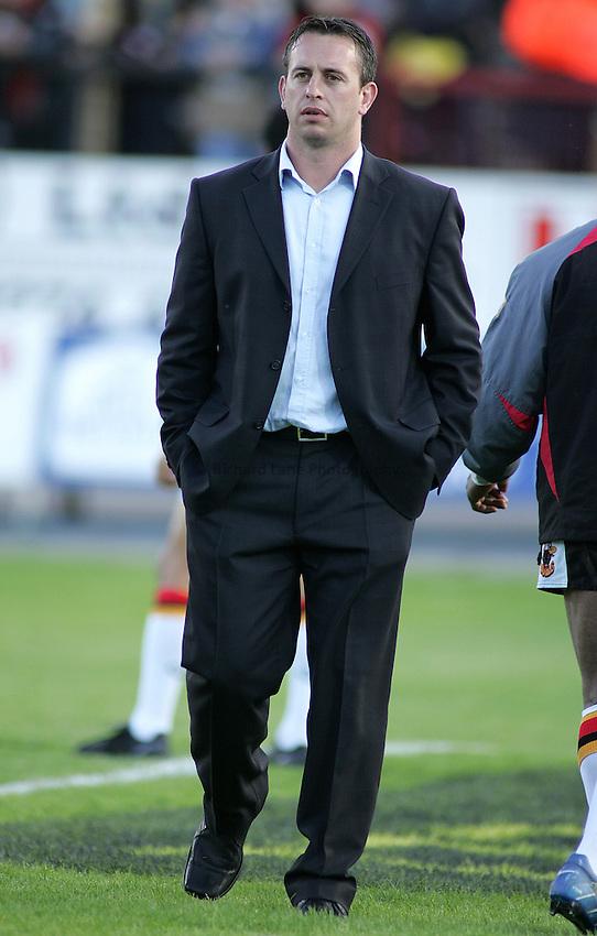 Photo: Paul Thomas..Bradford Bulls v Leeds Rhinos. Engage Super League. 26/05/2006..Bradford head coach Steve McNamara.