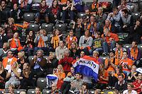 TURNEN: ROTTERDAM: Ahoy, WK Turnen, 18-10-2010, Nederlandse supporters, kwalificaties, ©foto Martin de Jong