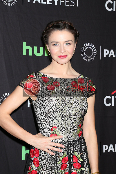 "Caterina Scorsone<br /> at ""Grey's Anatomy"" at the 34th Annual PaleyFest, Dolby Theater, Los Angeles, CA 03-19-17<br /> David Edwards/DailyCeleb.com 818-249-4998"
