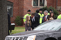 Elizabeth Edwards Funeral Service At Edenton Street United Methodist Church Raleigh North Carolina USA<br /> John Edwards,Emma Claire,Jack & Cate
