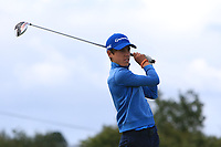 Matthew O'Brien (Elm Park) on the 14th tee during the Final round in the Connacht U16 Boys Open 2018 at the Gort Golf Club, Gort, Galway, Ireland on Wednesday 8th August 2018.<br /> Picture: Thos Caffrey / Golffile