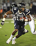 Nevada receiver Rishard Matthews runs against Hawaii during the third quarter of an NCAA football game in Reno, Nev., on Saturday Nov. 12, 2011. (AP Photo/Cathleen Allison)