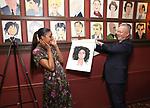 Sardi's Portrait unveiling for Condola Rashad