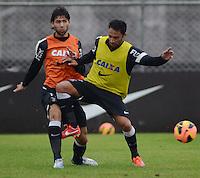 SÃO PAULO,SP, 25 Junho 2013 -  Ibson durante treino do Corinthians no CT Joaquim Grava na zona leste de Sao Paulo, onde o time se prepara  para o campeonato brasileiro. FOTO ALAN MORICI - BRAZIL FOTO PRESS