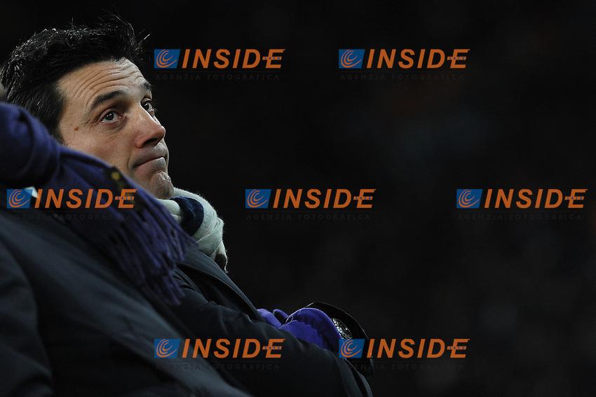 Vincenzo Montella allenatore Fiorentina.Roma 8/12/2012 Stadio Olimpico.Football Calcio 2012/2013 Serie A.Roma Vs Fiorentina.Foto Andrea Staccioli Insidefoto
