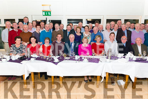 Jim O'Sullivan from Waterville celebrated his retirement after 46 years of service in the Department of Agriculture in Tralee surrounded by friends and family in the Heights Hotel, Killarney last Friday night.