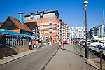 Redevelopment of Ipswich Waterfront, Suffolk, England