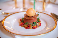Excecutive Chef Jørn G.Odden and Assistant Chef Ronny Haug are responsible for the food served at the Nobel Peace Prize banquet at Grand Hotel Oslo, Norway.