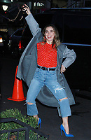 NEW YORK, NY - March 12: Haley Lu Richardson seen in New York City on March 12, 2019. <br /> CAP/MPI/RW<br /> &copy;RW/MPI/Capital Pictures