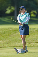 Morgan Pressel (USA) watches her tee shot on 3 during round 1 of the 2018 KPMG Women's PGA Championship, Kemper Lakes Golf Club, at Kildeer, Illinois, USA. 6/28/2018.<br /> Picture: Golffile | Ken Murray<br /> <br /> All photo usage must carry mandatory copyright credit (&copy; Golffile | Ken Murray)