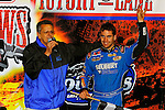 Nov 06, 2009; 12:43:13 AM; Concord, NC, USA; The Topless Showdown presented by Hungry-Man features the cars and stars of the World of Outlaws Late Model Series competing at The Dirt Track @ Lowe's Motor Speedway.  Mandatory Credit: (thesportswire.net)