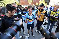 Picture by Alex Whitehead/SWpix.com - 25/09/2018 - Cycling 2018 Road Cycling World Championships Innsbruck-Tiriol, Austria - Junior Men Individual Time Trial -