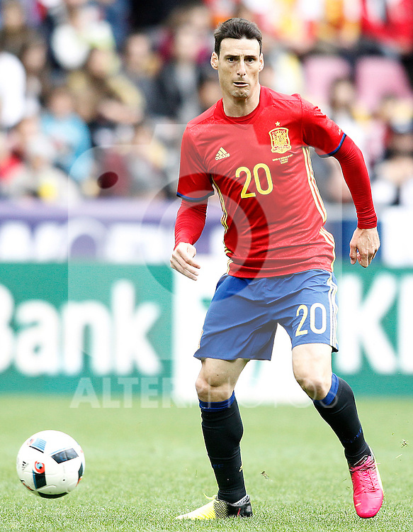 Spain's Aritz Aduriz during friendly match. June 1,2016.(ALTERPHOTOS/Acero)