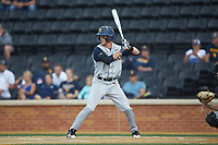 Braden Zarbnisky (26) of the West Virginia Mountaineers at bat against the Wake Forest Demon Deacons in Game Six of the Winston-Salem Regional in the 2017 College World Series at David F. Couch Ballpark on June 4, 2017 in Winston-Salem, North Carolina. The Demon Deacons defeated the Mountaineers 12-8. (Brian Westerholt/Four Seam Images)