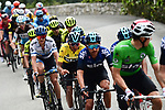 Race leader Yellow Jersey Egan Bernal (COL) and Team Sky during Stage 8 of the 77th edition of Paris-Nice 2019 running 110km from Nice to Nice, France. 16th March 2019<br /> Picture: ASO/Alex Broadway | Cyclefile<br /> All photos usage must carry mandatory copyright credit (&copy; Cyclefile | ASO/Alex Broadway)
