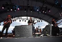 CIUDAD DE MEXICO, D.F. 13  Marzo.-  El grupo San Pascualito Rey durante el festival Vive Latino 2015 en el Foro Sol de la Ciudad de México. el 13 de Marzo de 2015.  FOTO: ALEJANDRO MELENDEZ