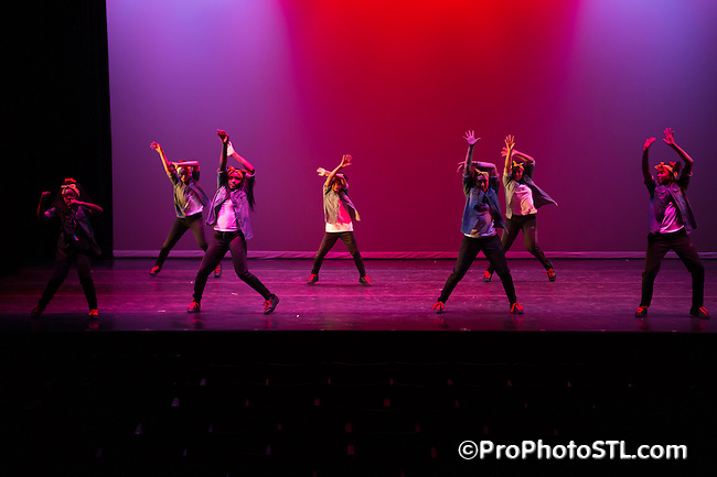 Perpetual Motion dance show presented by COCA in St. Louis on January 7, 2015.