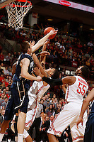 Ohio State Buckeyes forward Marc Loving (2) runs up against Penn State Nittany Lions forward Donovon Jack (5) at Value City Arena in Columbus Jan. 29, 2013 (Dispatch photo by Eric Albrecht)