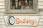 Super's Junkin Company. Old Smileage Tire sign.