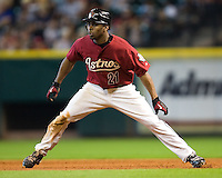 Bourn, Michael 5753.jpg Philadelphia Phillies at Houston Astros. Major League Baseball. September 6th, 2009 at Minute Maid Park in Houston, Texas. Photo by Andrew Woolley.