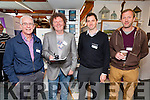 Pictured at the Tourism Promotional & Networking event at the Waterville Craft Market on Friday were l-r; Ger Kennedy - The Moorings Portmagee, Vincent Highland - The Derrynane App, Chris O'Neill - OPW Derrynane House & John O'Sullivan - Nature & Wildlife Photographer Killorglin.
