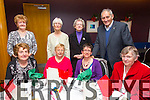 Enjoying the Lixnaw Senior Citizens christmas Luncheon at Ballyroe Heights Hotel on Sunday were Norma Nolan, Lynn Kean, Elsa Kean, Mary McElligott, Betty Griffin, Margaret Dowling, Mary Stack, John McElligott