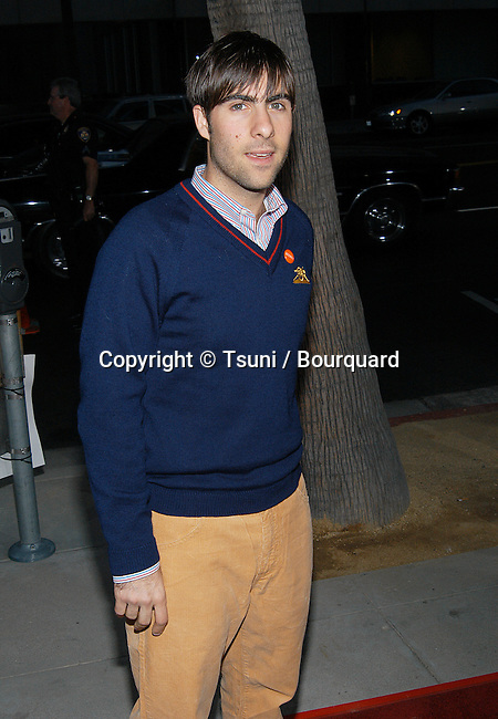 "Jason Schwartzman arriving at the premiere of ""One Hour Photo"" at the Academy of Motion Picture Arts and Sciences in Los Angeles. August 22, 2002.           -            SchwartzmanJason01.jpg"