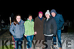 Dawn Mass; Attending the Easter Sunday Dawn Mass in Kiltomey Graveyard, Lixnaw were Sinead & Jane Behan, Marie Keane, Helena Dowling & Mike Behan.