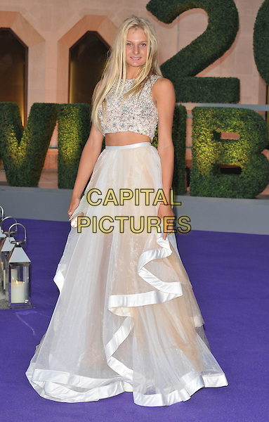 Dayana Yastremska at the Wimbledon Champions Dinner, The Guildhall, Gresham Street, London, England, UK, on Sunday 10 July 2016.<br /> CAP/CAN<br /> &copy;CAN/Capital Pictures
