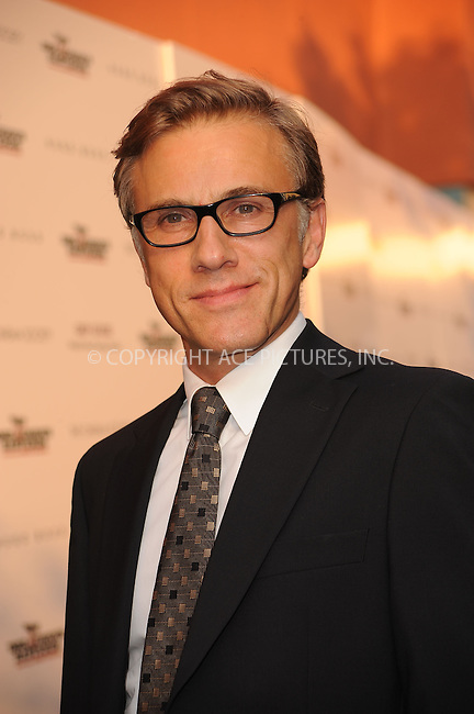 WWW.ACEPIXS.COM . . . . . ....August 17 2009, New York City....Actor Christoph Waltz arriving at The Cinema Society & Hugo Boss screening of 'Inglourious Basterds' at the SVA Theater on August 17, 2009 in New York City.....Please byline: KRISTIN CALLAHAN - ACEPIXS.COM.. . . . . . ..Ace Pictures, Inc:  ..tel: (212) 243 8787 or (646) 769 0430..e-mail: info@acepixs.com..web: http://www.acepixs.com