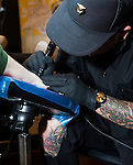 JonBoy, an expert tattooer at West 4th Tattoos, specializes in popularizing tiny tattoos and consistently works with a steady client base of celebrities.<br /> <br /> Ben Sklar for the New York Times Jonboy, expert tattoo artist, nyc
