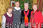 Pictured at the Christmas in Killarney tea dance held in the Holiday Inn, Killarney on Wednesday were Mary Bailey, Patricia O'Shea, Gayle Lynch and Mai Certon.