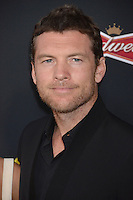 Sam Worthington at the premiere of his movie &quot;Sabotage&quot; at Regal Cinemas L.A. Live.<br /> March 19, 2014  Los Angeles, CA<br /> Picture: Paul Smith / Featureflash