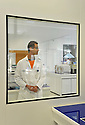 29/11/11 - CLERMONT FERRAND - PUY DE DOME - FRANCE - THEA. Laboratoire de recherche et pole de production specialises dans les produits ophtalmiques - Photo Jerome CHABANNE