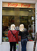 Two women windowshop in the fashionable Kolonaki neighborhood of Athens, Greece. Photo by Kevin J. Miyazaki/Redux