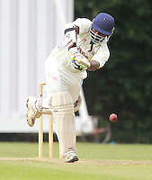 Sridharan Sriram bats for South Hampstead during the Middlesex County Cricket League Division Three game between Highgate and South Hampstead at Park Road, Crouch End on Sat Aug 2, 2014
