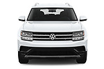 Car photography straight front view of a 2018 Volkswagen Atlas S 5 Door SUV