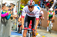 MEDELLIN - COLOMBIA, 13-02-2019: Sebastian Molano (COL), UAE Emirates, durante la segunda etapa del Tour Colombia 2.1 2019 con un recorrido de 150.5 Km, que se corrió entre La Ceja Canadá - Carmen de Viboral - Rionegro - Canadá - La Ceja. / Sebastian Molano (COL), UAE Emirates, during the second stage of 150.5 km of Tour Colombia 2.1 2019 that ran through La Ceja Canada - Carmen de Viboral - Rionegro - Canada - La Ceja.  Photo: VizzorImage / Anderson Bonilla / Cont