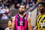Ex-Ludwigsburger -Martin BREUNIG (#12 Telekom Baskets Bonn) \ beim Spiel in der Basketball Bundesliga, MHP Riesen Ludwigsburg - Telekom Baskets Bonn.<br /> <br /> Foto &copy; PIX-Sportfotos *** Foto ist honorarpflichtig! *** Auf Anfrage in hoeherer Qualitaet/Aufloesung. Belegexemplar erbeten. Veroeffentlichung ausschliesslich fuer journalistisch-publizistische Zwecke. For editorial use only.