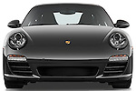 Straight front view of a 2009 Porsche Carrera 4S Coupe