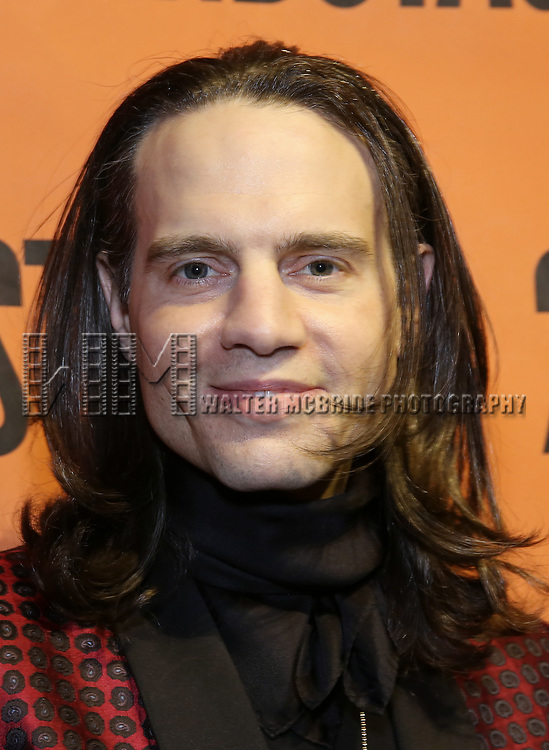 Jordan Roth backstage at  the Second Stage Theater Broadway lights up the Hayes Theatre at the Hayes Theartre on February 5, 2018 in New York City.
