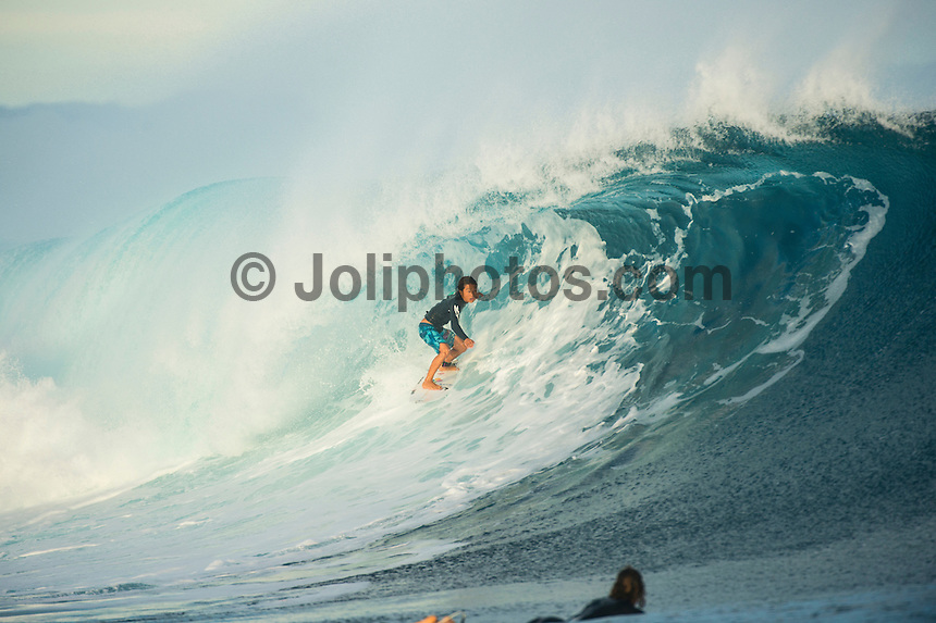 CLOUDBREAK, Namotu Island/Fiji (Wednesday, June 12, 2013) - Shun Murakami (JPN) surfing Cloudbreak.<br /> Photo: joliphotos.com