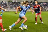 Chicago, IL - Saturday Sept. 24, 2016: Sofia Huerta during a regular season National Women's Soccer League (NWSL) match between the Chicago Red Stars and the Washington Spirit at Toyota Park.