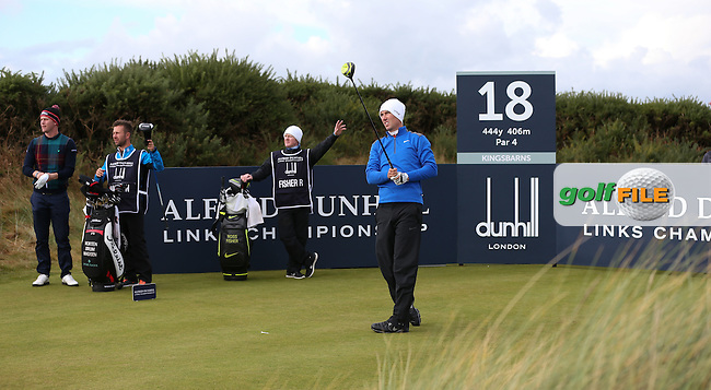 Ross Fisher (ENG) during R3 at Kingsbarns of the 2014 Alfred Dunhill Links Championship, The Old Course, St Andrews, Fife, Scotland. Picture:  David Lloyd / www.golffile.ie