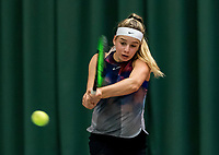 Wateringen, The Netherlands, March 9, 2018,  De Rijenhof , NOJK 12/16 years, Anouck Vrancken Peeters (NED)<br /> Photo: www.tennisimages.com/Henk Koster