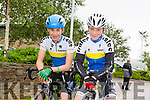 Tralee CC David Fitzgerald and Cian Smells at the Tralee Manor West GP on Sunday