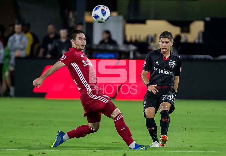 Washington, DC. - Wednesday, July 25 2018: The New York Red Bulls defeated D.C. United 1-0 in a MLS match at Audi Field.