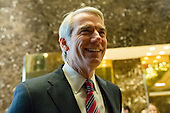 United States Senator Robert Portman (Republican of Ohio) is seen upon his arrival at Trump Tower in New York, NY, USA on December 14, 2016. <br /> Credit: Albin Lohr-Jones / Pool via CNP